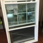 white double-hung vinyl windows for sale