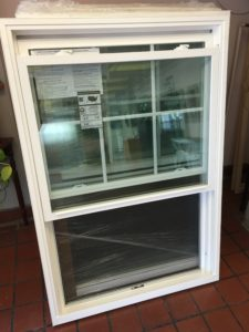 Super Sale: Eight Brand New White Double- Hung Vinyl Windows ...